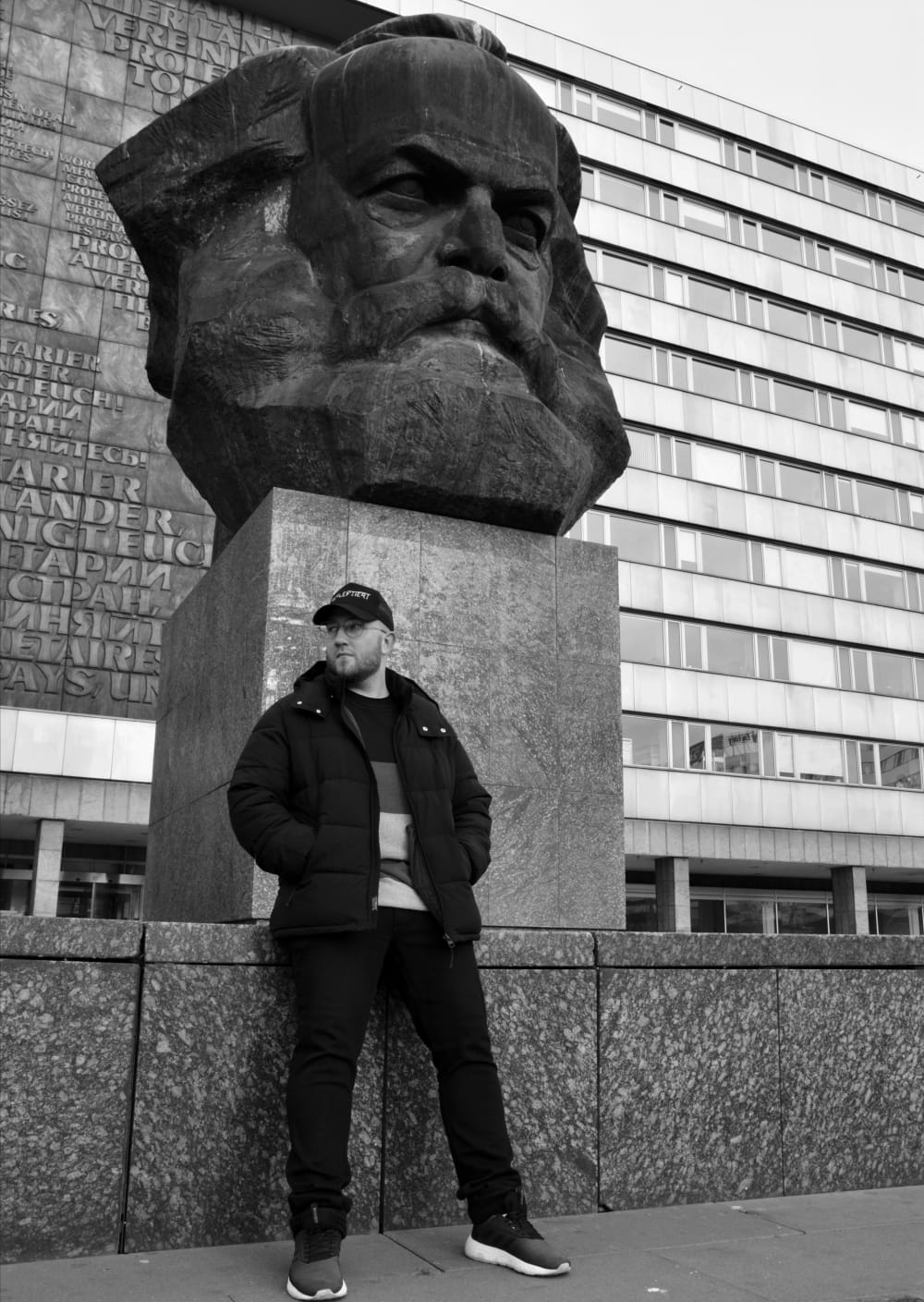 PS am Karl-Marx-Monument